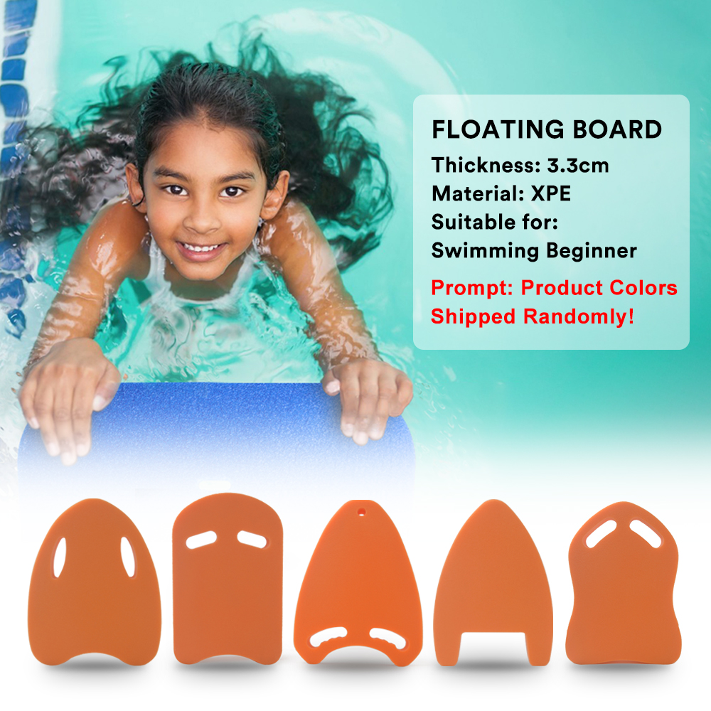 Beginner Floating Board Swimming Training Kickboard Lightweight XPE Board Kids Swim Float Water Sports
