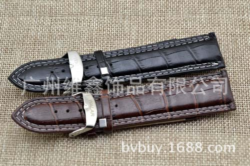 Watch Band Double-Line Fashion Watch Strap 24 Size Men Large Watch Strap Watch Accessories 0885