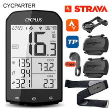 Bicycle-Accessories Computer Speedometer Gps Bike Strava Road-Cycling Waterproof Cycplus M1