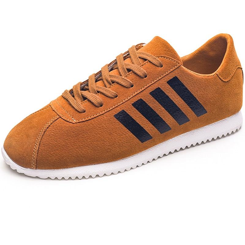 Мужские брендовые кожаные повседневные ботинки мужские модные