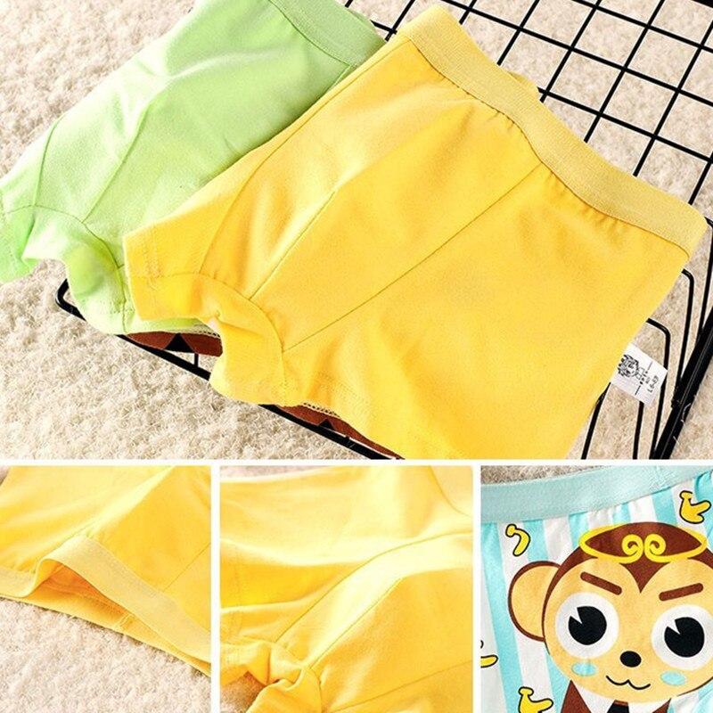 2pcs/lot Boys Boxer Underwear/ Cartoon Children's Pants/ Cotton Boys' Underwear Suit 2-10 Years 2