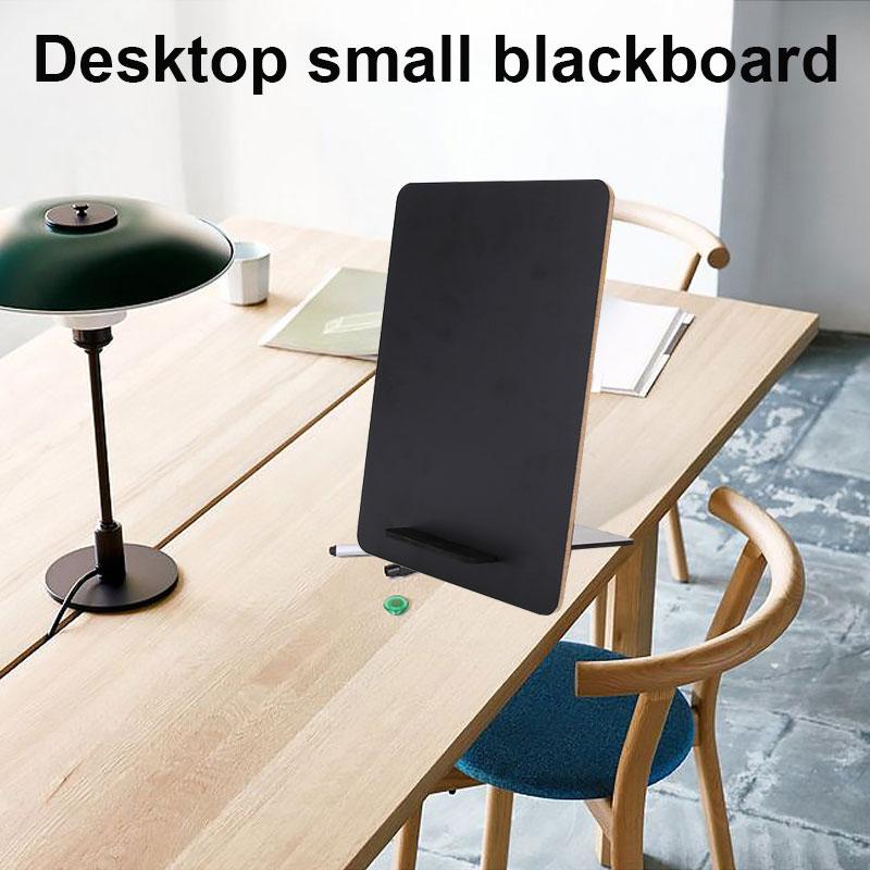 Message Board Memo Board Melamine Small Blackboard Desktop Restaurant Table Card Decor Cafe Creative Home Notice Party