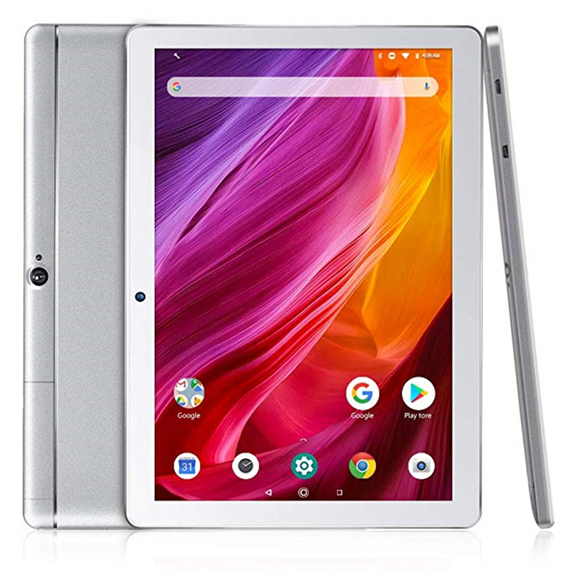K10 Tablet 10.1 inch Android Tablet with 16GB Quad Core Processor Android 8.1 IPS HD Display Micro HDMI Dragon Touch Tablet PC
