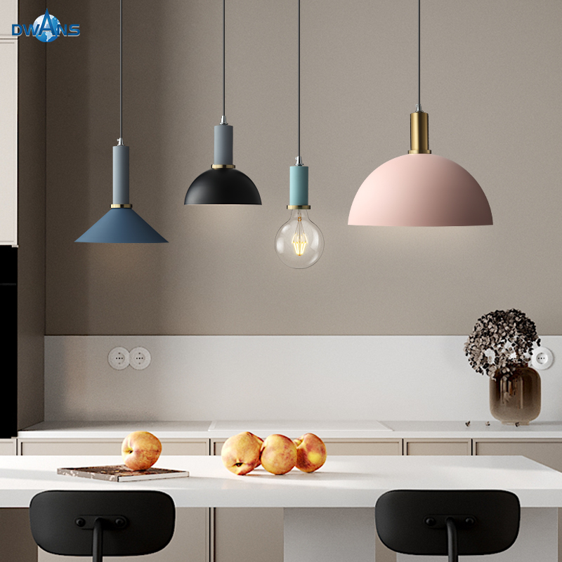 Pendant Lamp Hanging Led Warm Lights Home Decoration Accessories Nordic Colorful Used In Hotel Living Room Bedroom