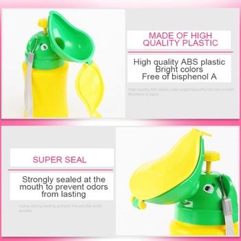 Baby Girl Travel Urinal Pot PP Smooth Odorless Useful Reusable Portable Toilet Training Travel Urinal Potty 2