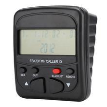 Telefono fijo Высокое качество Прочный ABS стационарный телефонный звонок блокатор блокирующий все ненужные звонки с идентификатором звонящего дисплей дома