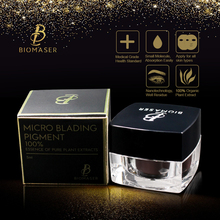 BIOMASER Microblading Ink Pigment Tattoo Ink Brand Permanent Makeup Pigment for Eyebrow Eyeliner lip 100% Plant Material