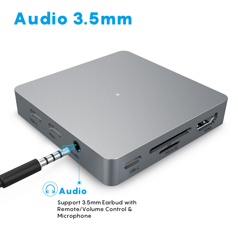 USB C HUB 11 IN 1 Type c Adapter USB C to HDMI 3.5mm Jack Audio SD TF HDMI VGA RJ45 USB3.0 Type c Docking station for MacbookPRO