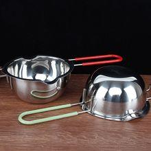 Молочный шоколадный горшок расплавленная нагревательная сковорода кастрюля сырные горшки с залить кухонный носик инструмент