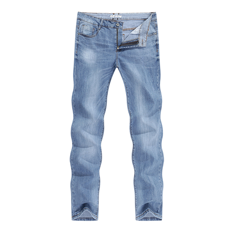 2020 Autumn Jeans Men Regular Cut Light Blue