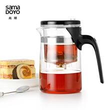 [GRANDNESS] Samadoyo E 01 tetera y taza de gungfu de alto grado, tetera de cristal de 500ml, taza de té de Arte de SAMA