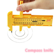 Cutters Compasses Round Paper-Cutting Adjustable 1-30cm Scrapbooking-Cards Sewing Patchwork