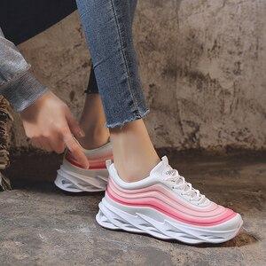 Image 3 - Scarpe da Donna Scarpe da Ginnastica di Moda di Spessore Inferiore Della Piattaforma Delle Donne Scarpe da Ginnastica Appartamenti Femminile Casual Scarpe da Donna Zapatos De Mujer Dropshipping