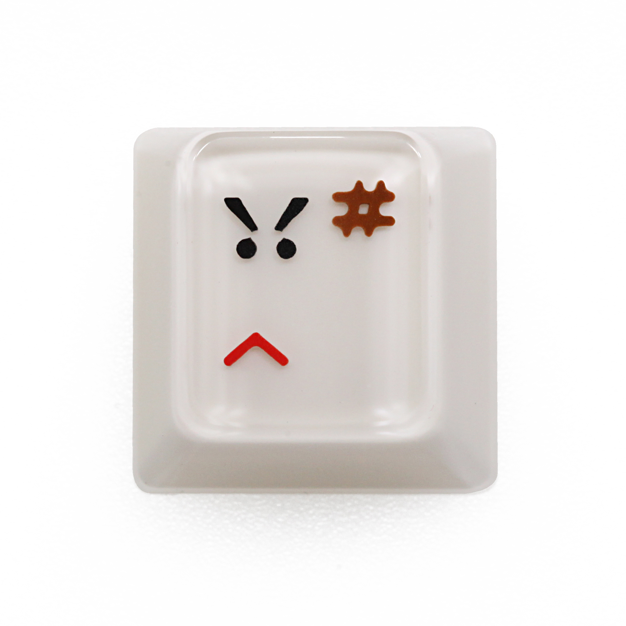 HAMMER Dr. Click ARTISAN KEYCAP Compatible With Cherry MX Switches And Clones Beige Grey Red Black Angry
