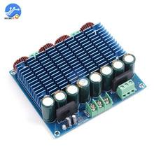 XH M252 tda8954th placa de amplificador duplo canal ac 24v 2x420w estéreo de alta fidelidade classe d módulo de placa de som de áudio digital