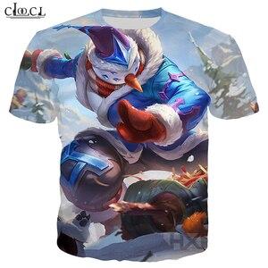 Image 2 - CLOOCL פופולרי משחק T חולצת גברים/נשים 3D מודפס T חולצות מקרית סגנון גיבור עור חולצה Streetwear סוודרי T321