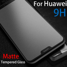 цена на 9H anti-glare Matte Tempered Glass For huawei p20 lite Full Screen Protector on huawie p20 p30 lite Frosted Protective glas Film