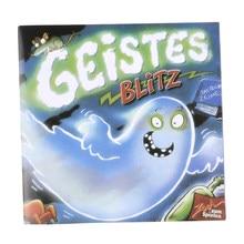 Geistes 1 jogo de tabuleiro 2-8 jogadores família/festa melhor presente para crianças inglês instruções cartões jogo reação blitz jogo