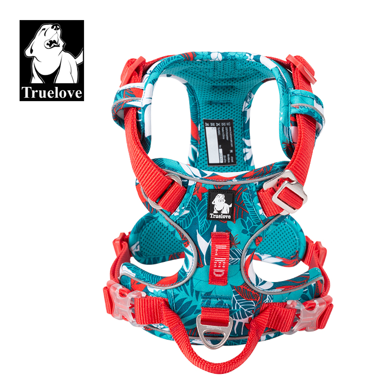 Truelove Dog-Harness Reflective Camouflage Special-Edition Nylon And TLH5653 Pet-Explosion-Proof