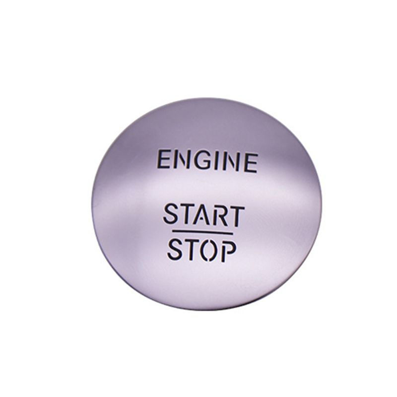 2020 New Car Keyless Start Stop One Button Start Button Switch Ignition Button Protection Cover for Mercedes