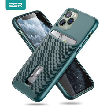 ESR Case for iPhone 11 Pro Max Card Slot Case Wallet Brand Business Protective Back Cover for iPhone 11 pro Max Luxury Funda