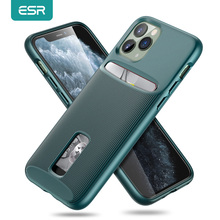 ESRสำหรับiPhone 11 PRO MAXกรณีบัตรกระเป๋าสตางค์ธุรกิจป้องกันกลับสำหรับiPhone 11 Pro MAX Luxury Funda