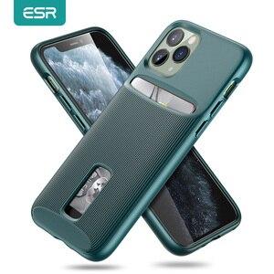 Image 1 - ESR kılıfı iPhone 11 Pro Max kart yuvası kılıf cüzdan marka iş koruyucu arka kapak iPhone 11 pro max lüks Funda