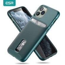 IPhone 11 Pro Max 카드 슬롯 케이스 지갑 용 ESR 케이스 iPhone 11 pro Max Luxury Funda 용 브랜드 비즈니스 보호용 뒤 표지