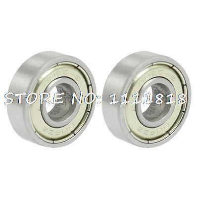 2x 608ZZ Dual Metal Shields Deep Groove Ball Bearing 8 X 22 X 7mm