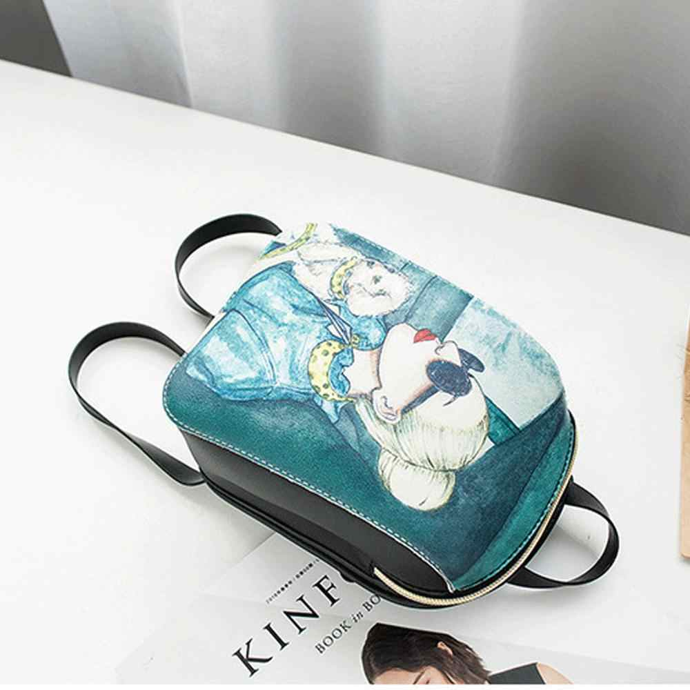 Lokalen lager Mädchen Frauen Dame Leder Kleine Handtasche Zurück Tasche-Mini In Der Lage Rucksack Mode Tasche