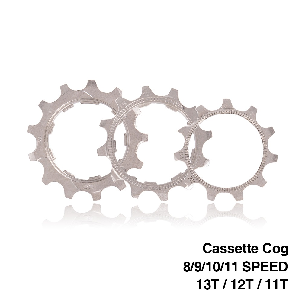 Bicycle Replacement Cassette Cog MTB Road Bike 8 9 10 11 Speed 11T 12T 13T Freewheel Parts for SRAM shimano Sunrace cassette image