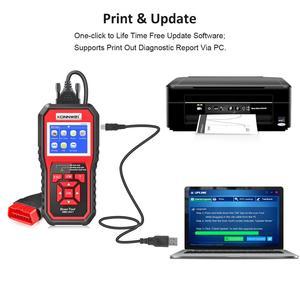 Image 4 - OBD 2 רכב סורק OBD2 סורק KONNWEI KW850 מלא ODB2 סורק ריבוי שפות רכב כלים ODB רכב אבחון כלי עבור מכוניות Odb2