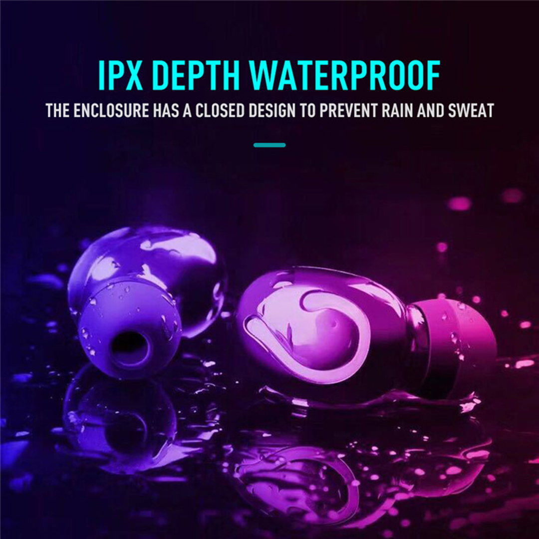 Oneplus Headphone Bluetooth 5.0 Earphone Wireless Earbud IPX7 Waterproof Noise Reduction Sports Headset Charging Box Power Bank