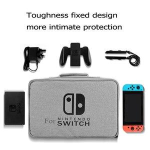 Image 4 - S/M/L Schalter Lagerung Tasche Für Nintendo Switch Game Konsole Zubehör Reise Handtasche Für NS Schutzhülle glas Film 3in1 Sets