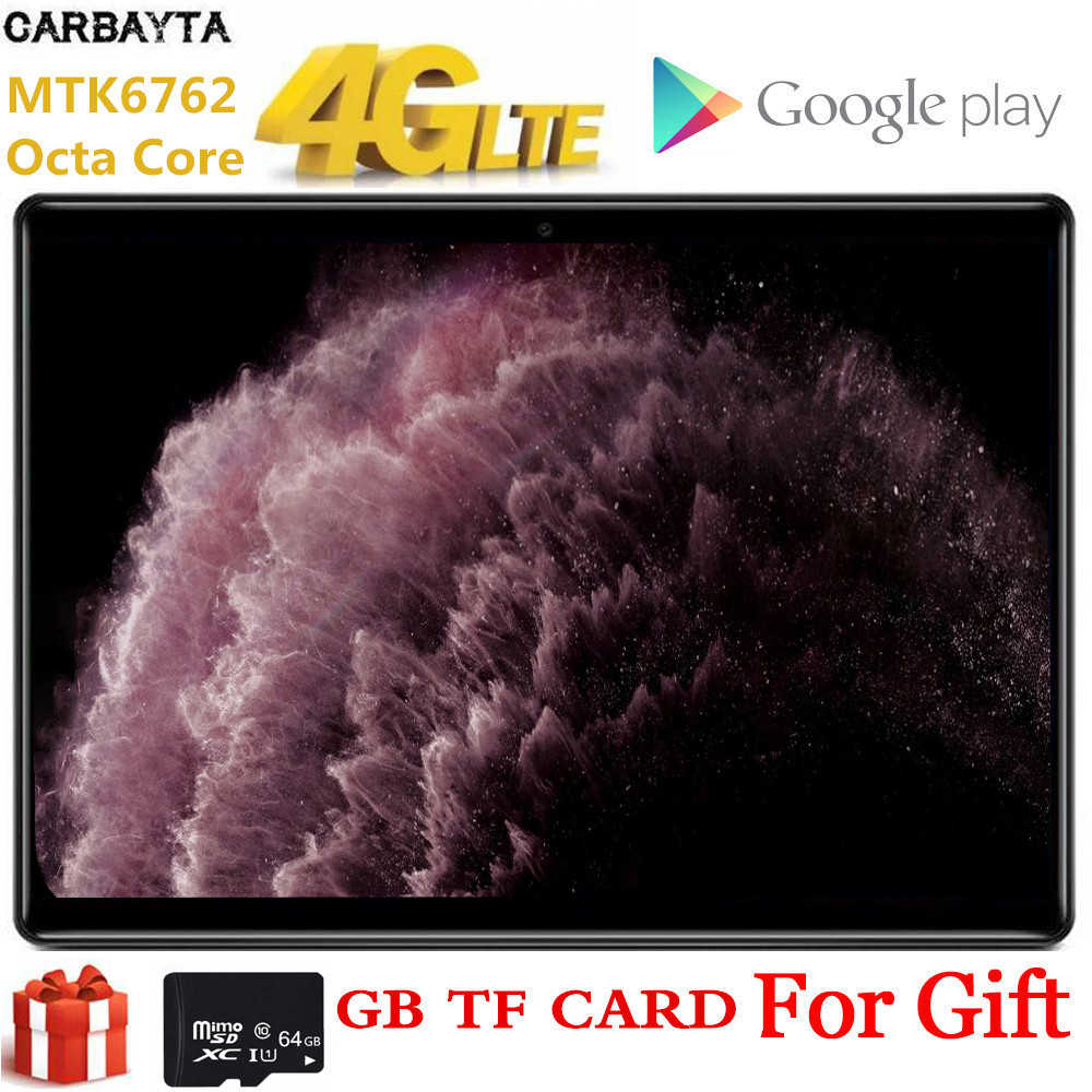 10 Inch Akpad Gift 64 Gb Tf Card Tablet Pc Global Bluetooth Wifi Phablet Android 9.0 8 Octa Core Dual sim-kaart 2.5D Ips 1920*1200