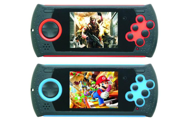 Best selling MD16 3 inch portable game console built in 100 games support TF card expansion for GBA SMC SMD image