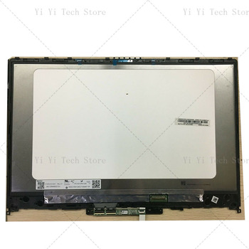 Free shipping For Lenovo IdeaPad C340-14IWL C340-14 81N40087FR lcd screen touch digitizer + bezel