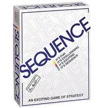 Jogo de sequência adequado para 2-12 jogadores jogo da família, jogo de tabuleiro
