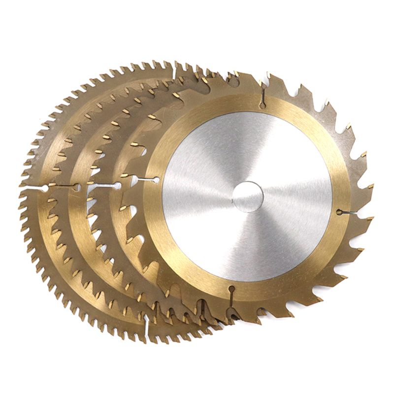 New 160/165/185mm Wood TiCN Coated Circular Saw Blade 24/40/48/80T Cutting Disc