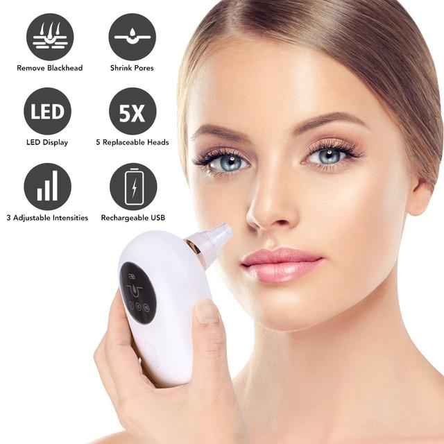 Blackhead Remover Face Nose Acne Black Dot Pimple Electric Blackhead Vacuum Cleaner Cosmetology Pore Skin Care