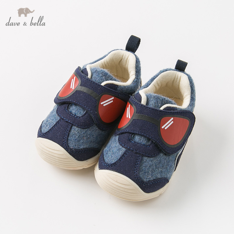 DB11984 Dave Bella Autumn Baby Boy Sport Shoes New Born Boy Casual Shoes Navy Shoes