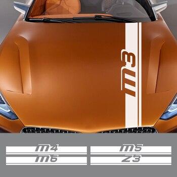 Pour BMW M1 Hommage 40i M2 CS M3 E92 M4 M5 M6 Z1 Z3 Z4 E89 E85 Z8 Auto Accessoires Capot De Voiture Autocollant Vinyle Film Capot Autocollant