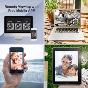 Image 5 - MOVOLS H.265 מעקב וידאו מערכת 5MP HD H.265 DVR 4PCS CCTV מצלמה ראיית לילה עמיד למים אבטחת מצלמה מערכת ערכת