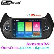 SilverStrong IPS Android9.0 4G 64GB 8Core Radio del coche para FIAT Fiorino Qubo/Citroen Nemo/Peugeot Bipper opción TPMS 4core2G16G