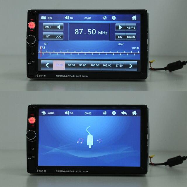 VODDOL 7023B Double Din autoradio Bluetooth multimédia lecteur vidéo auto stéréo carte pour mercedes-benz Tesla Hummer universel