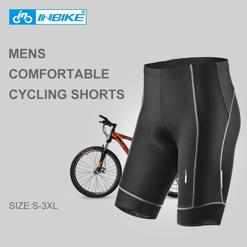 Short con Almohadilla De Esponja De Verano INBIKE Pantalones Cortos De Ciclismo para Hombre