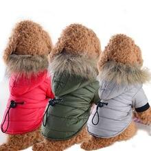 Красивая одежда для собак маленьких хлопковая ткань с двумя