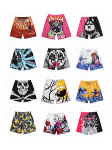 Men Shorts Casual-Style Quick-Dry Summer Loose Printing Male Man Breathable