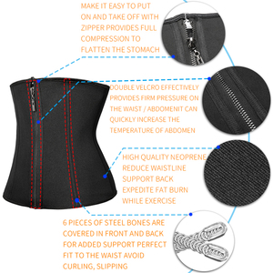 Image 3 - Zmniejszenie pasy odchudzanie Shapewear gorset Waist Trainer brzuch odchudzanie płaszcza brzuch czopiarki pas treningowy kobieta urządzenie do modelowania sylwetki gorset