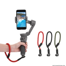 цена на Nylon Safety Handheld PTZ Camera Stabilizer Hand Strap for DJI Osmo Mobile 3 Wrist Strap Lanyard Strap Safety Hand Strap
